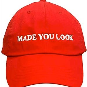 Brand New made you look red hat